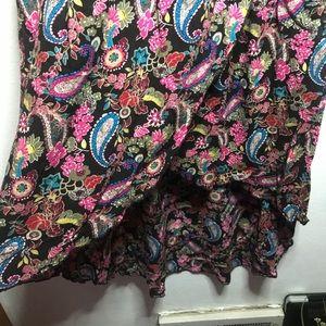 Mudd Dresses - Mudd Floral paisley High Low Dress